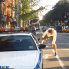 Watch how this bicyclist respond when they gave him a ticket