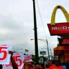 Striking Fast Food Workers Arrested By Police