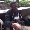 Homeless Man Cries At Birthday Wish Come True