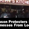 Ferguson Protesters Save Businesses From Looters