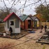 Homeless People Build Community Of Tiny Homes For The Homeless