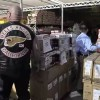 Hells Angels Buy Every Bicycle In The Store And Give Them All To Kids For The Holidays