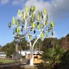 "New ""Wind Tree"" Generates Wind Power Silently In Tight Spaces!"