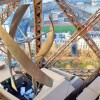 Clean Energy Wind Turbines Installed On The Eiffel Tower