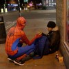 Anonymous Spiderman Cares For Homeless – Proving Anyone Can Be a Hero