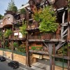 This Urban Treehouse Uses 150 Trees To Protect Its Residents From Noise and Pollution