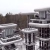 Massive Russian Tesla Tower Shown In New Drone Footage
