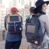 This Solar-Powered Backpack Charges Devices On The Go