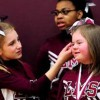 When Middle-School Basketball Players Heard Bullying On The Sidelines, They Stormed Off To Defend A Cheerleader With Down-Syndrome