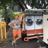 These 20-Year-Olds Turned Their Van Into A Mobile Laundromat To Wash Clothes For The Homeless