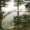 A Tiny Tree House Paradise Complete With Hot Tubs And Skate Park? Yes Please!