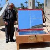Man Serves Food To The People Of Gaza With A Solar Powered Oven