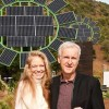 James Cameron Built A Giant Solar Garden For His Wife's Sustainable School