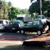 Watch What This Guy Does To A Car Parked In A Bicycle Lane