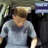 Football Player Locks Himself In Hot Car To Demonstrate How Dangerous It Is For Dogs