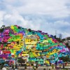 Mexican Graffiti Crew Paints Over 200 Houses To Unite The Community