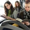 Romanian City Gives Free Bus Rides To Passengers If They Read Books Inside