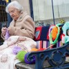104-Year-Old Activist Yarn-Bombs Her Town With Colorful Art