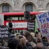 Thousands In Europe Protest Against Bombing Syria