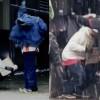 Generous Homeless Man Gives His Own Coat To Cold Teen In Snow [Watch]