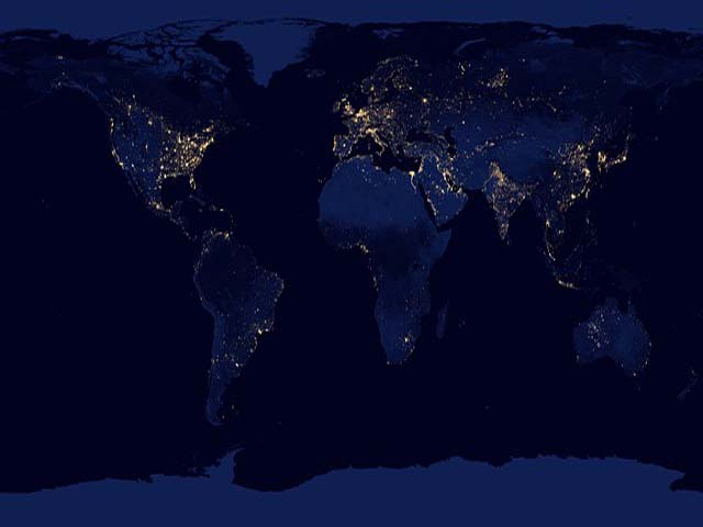 earth at night1