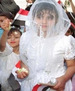 Over 35,000 children are forced into marriage every day