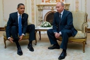 Obama and Putin: not the best of friends