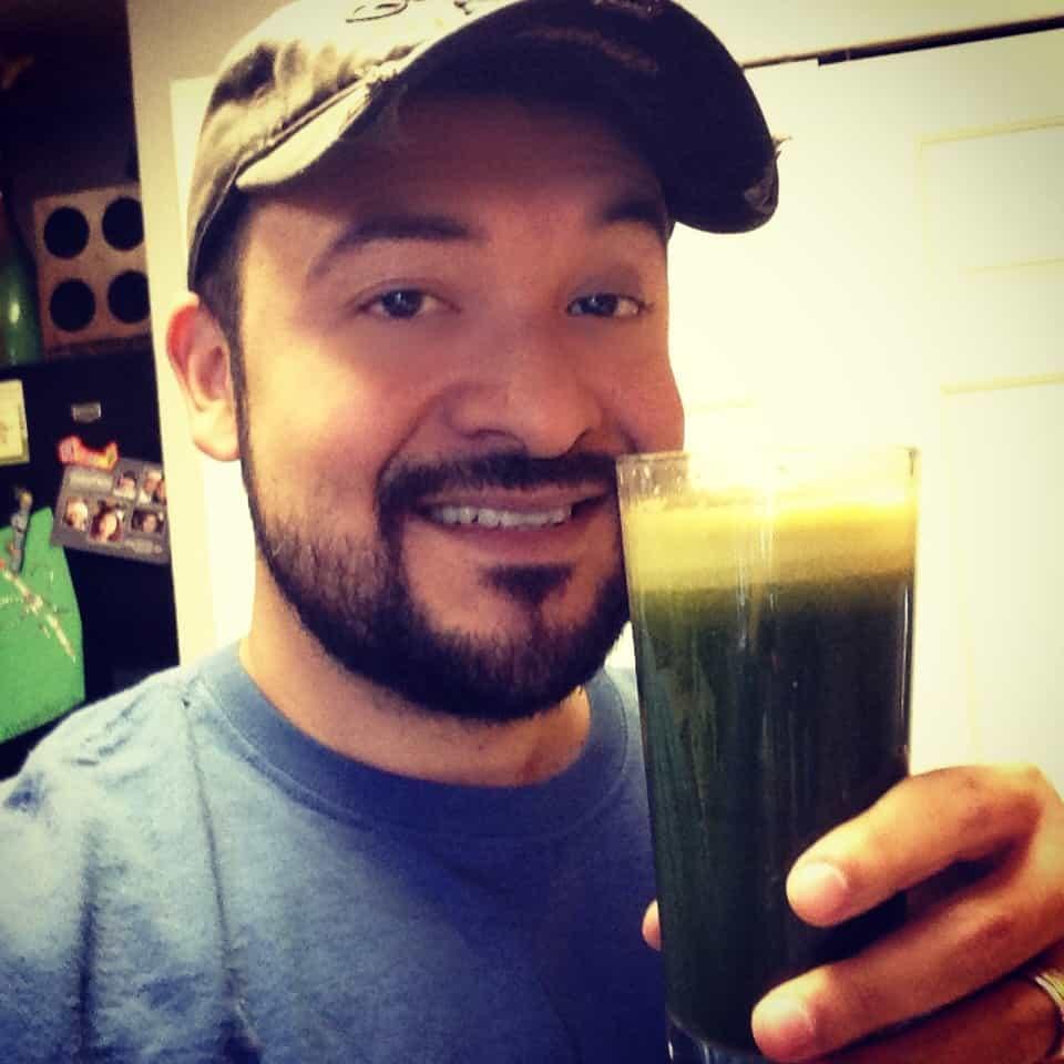 Tom's Green Juice.  Credit: Tom Arguello