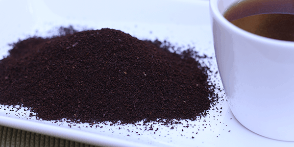 how to add used coffee grounds to soil as fertiliser