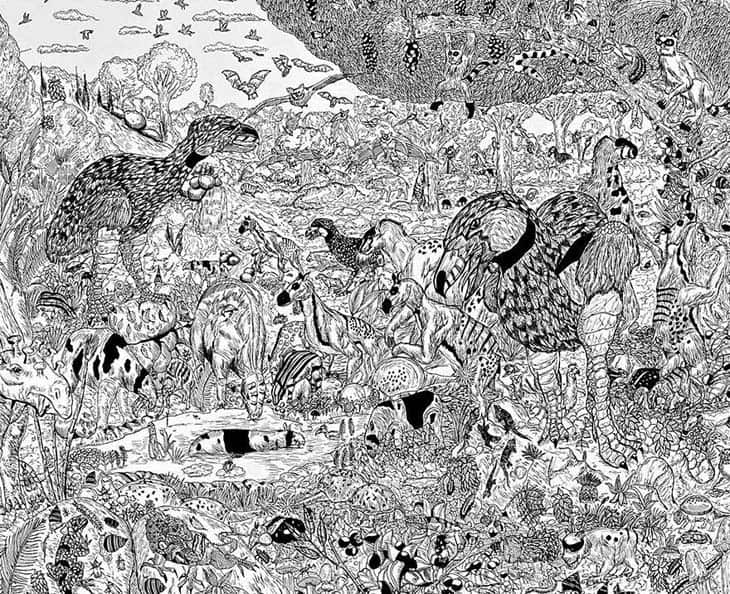 11-Year-Old Child Prodigy Creates Stunningly Detailed Drawings Bursting With Life (10)