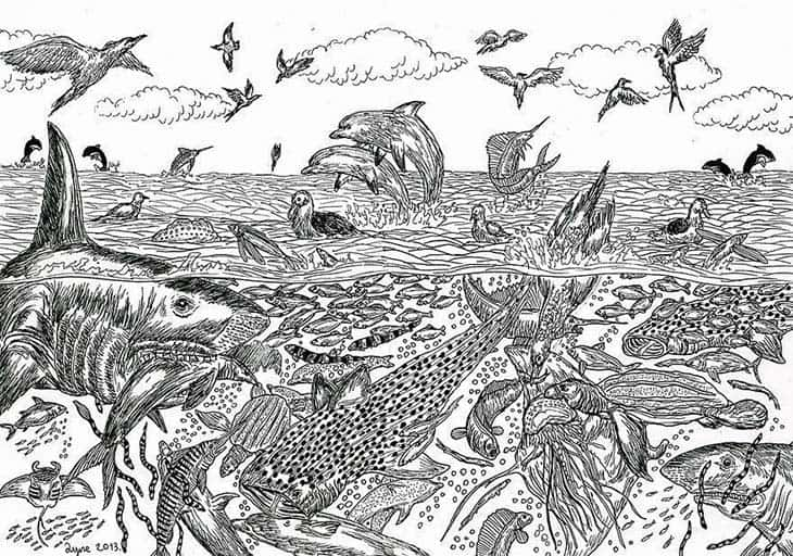 11-Year-Old Child Prodigy Creates Stunningly Detailed Drawings Bursting With Life (12)