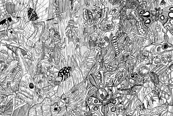 11-Year-Old Child Prodigy Creates Stunningly Detailed Drawings Bursting With Life (5)