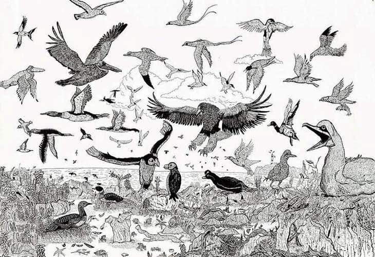 11-Year-Old Child Prodigy Creates Stunningly Detailed Drawings Bursting With Life (6)