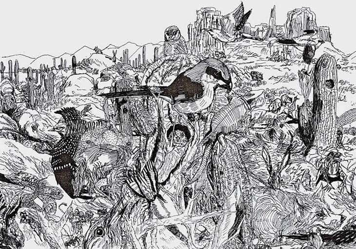 11-Year-Old Child Prodigy Creates Stunningly Detailed Drawings Bursting With Life (8)