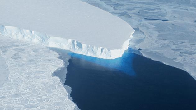 Thwaites Glacier, Credit: NASA