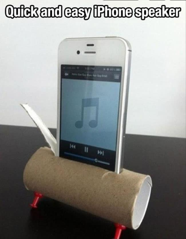 cool-life-hack-iPhone-speaker-cheap