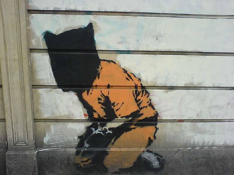 800px-Banksyguantanamo