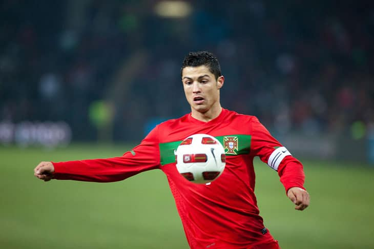 Image Credit: Wikimedia - Christiano Ronaldo