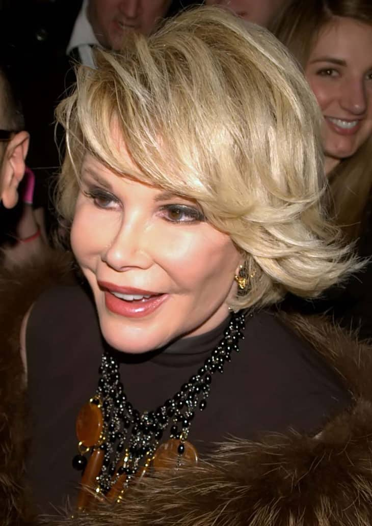 Image Credit: Wikipedia / Flickr / David Shankbone - Joan Rivers