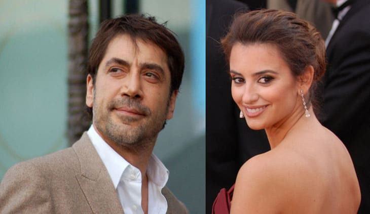 Image Credits: WikiMedia. Spanish actress Penelope Cruz and her husband Javier Bardem.