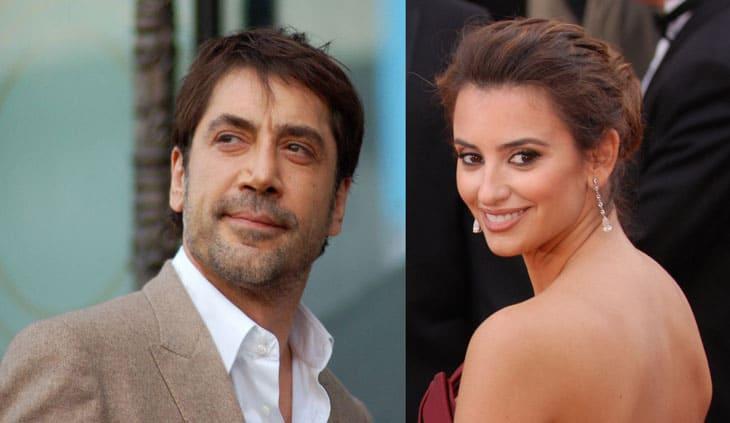 Image Credits: WikiMedia. Spanish actress Penelope Cruz and her husband Javier Bardem.