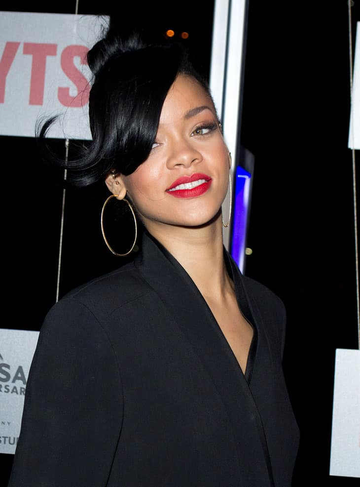 Image Credit: Wikipedia / Flickr / Liam Mendes -  Rihanna