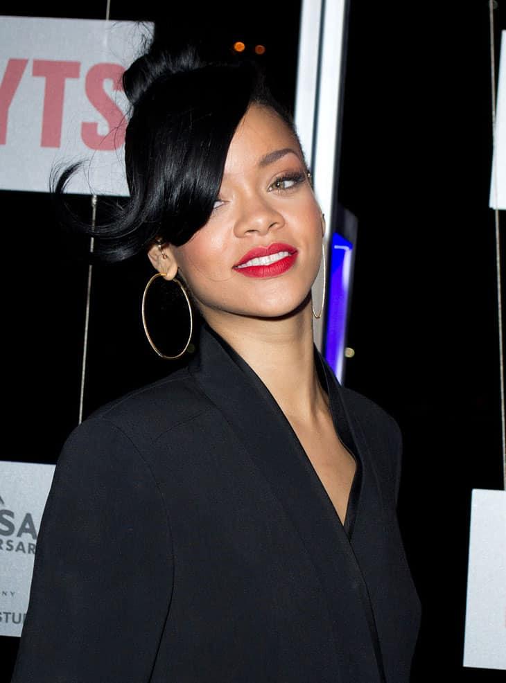 Image Credit: Wikipedia / Flickr / Liam Mendes -  Rihanna