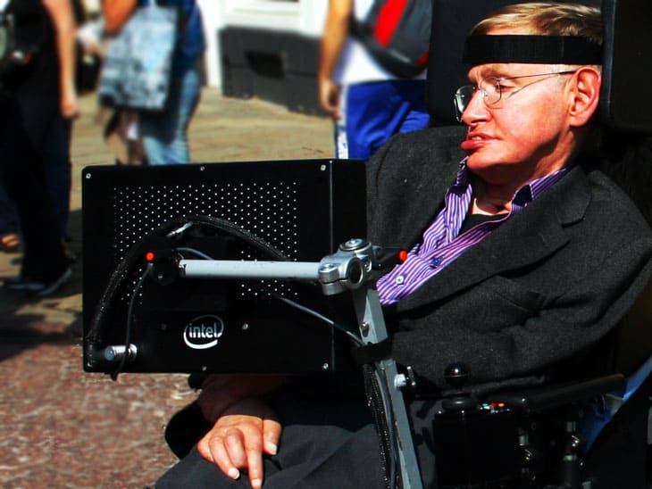 Image Credit: Wikipedia/ Doug Wheller - Stephen Hawking