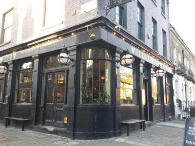 The William IV pub in London
