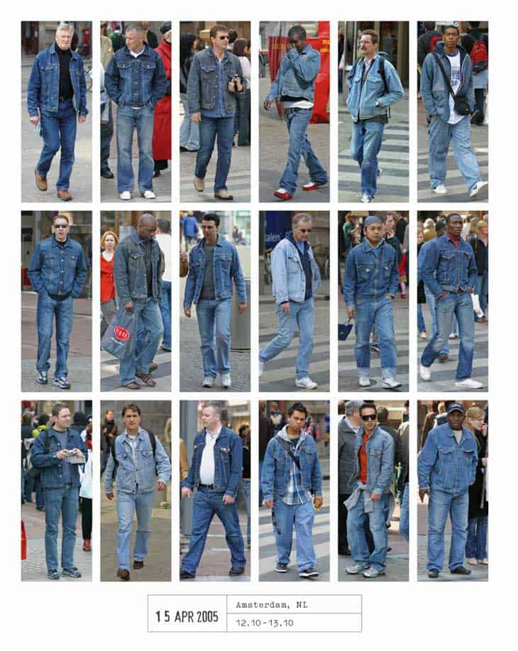 2005...Uh-oh, it's double denim