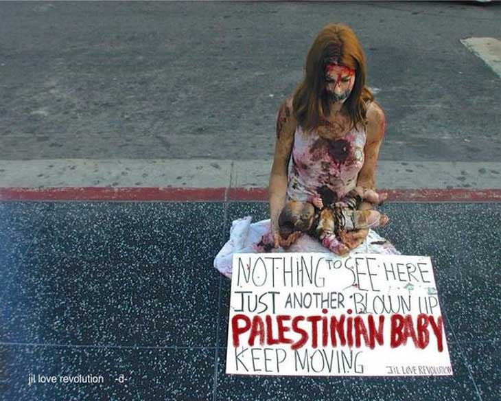 3-protest-at-hollywood-walk-of-fame-against-israel