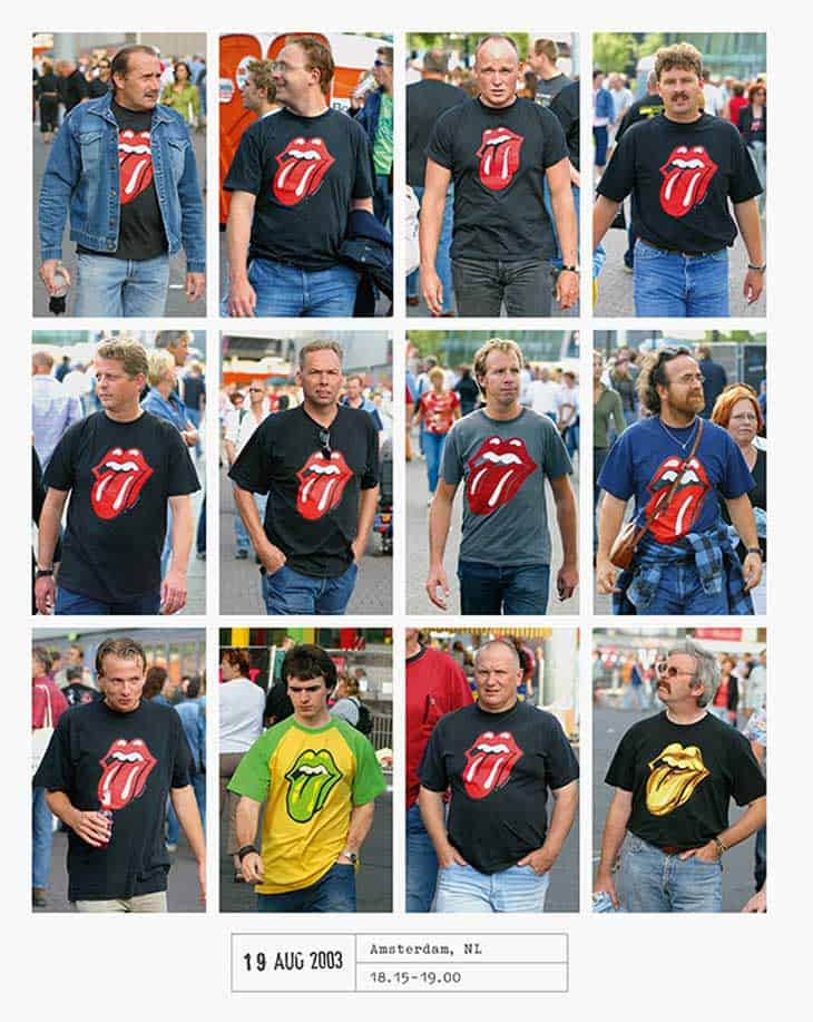 In 2003, also in Amsterdam, everyone was Rolling Stones crazy