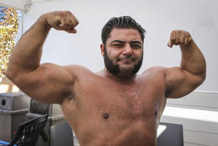 Vegan Patrick Baboumian was Germany's Strongest Man in 2011 and continues to be at the peak of his career.