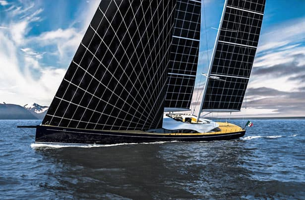 Sail The High Seas In This Solar Powered Yacht True Activist